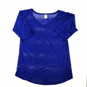 O'Neill Swimsuit Coverup Size M LG Navy Blue EUC